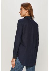 Niebieska koszula G-Star RAW casualowa, długa