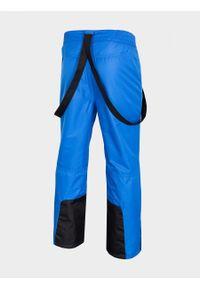 Niebieskie spodnie narciarskie outhorn