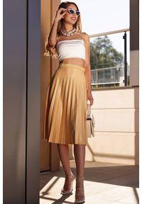 Żółta spódnica IVET