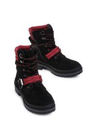 Czarne buty trekkingowe Jenny Fairy