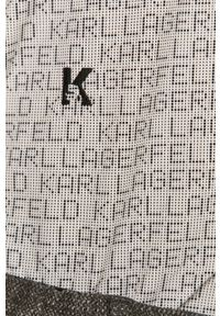Biała koszula Karl Lagerfeld na co dzień, casualowa