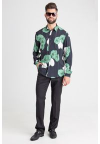 Koszula Just Cavalli na spotkanie biznesowe, na lato