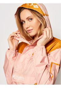 Różowa kurtka przejściowa columbia