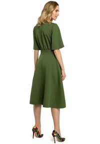 Sukienka MOE rozkloszowana, elegancka