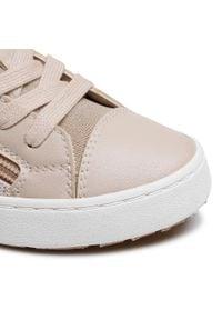 Geox - Sneakersy GEOX - J Kilwi G. B J02D5B 0MABC C5000 S Beige. Kolor: beżowy. Materiał: skóra, materiał, zamsz