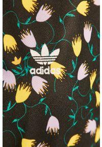 Wielokolorowa sukienka adidas Originals z krótkim rękawem, oversize, casualowa