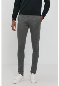 Premium by Jack&Jones - Spodnie. Kolor: szary