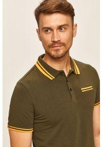 Koszulka polo Guess Jeans polo, krótka, z aplikacjami