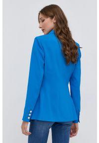 Marciano Guess - Marynarka. Okazja: na co dzień. Kolor: niebieski. Materiał: tkanina. Styl: klasyczny, casual