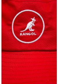 Kangol - Kapelusz. Kolor: czerwony