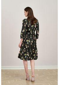 Marie Zélie - Sukienka Noelia Pilea. Materiał: tkanina, bawełna, wiskoza, materiał