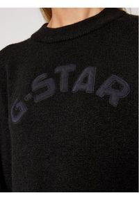Czarny sweter klasyczny G-Star RAW
