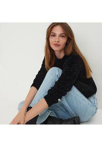 Sinsay - Miękki sweter - Czarny. Kolor: czarny