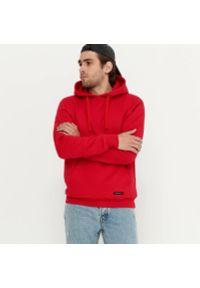 House - Bluza z kapturem basic - Czerwony. Typ kołnierza: kaptur. Kolor: czerwony