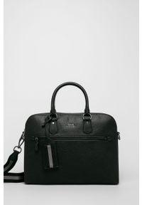 Czarna walizka Polo Ralph Lauren biznesowa