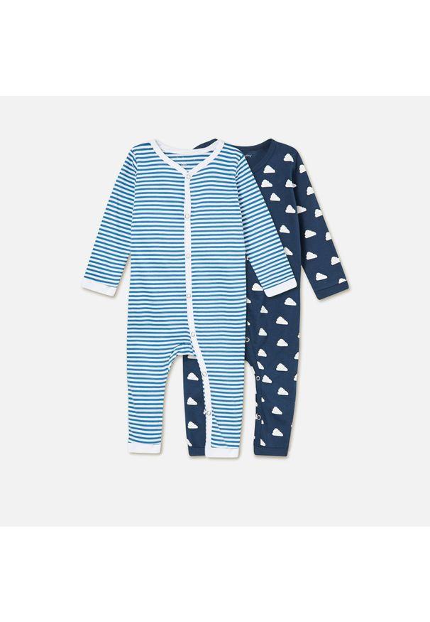 Niebieska piżama Sinsay
