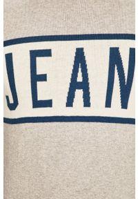 Pepe Jeans - Sweter Downing. Okazja: na co dzień. Kolor: szary. Materiał: dzianina. Styl: casual