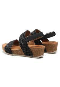 Refresh - Sandały REFRESH - 72755 Black. Okazja: na co dzień, na spacer. Kolor: czarny. Materiał: skóra ekologiczna, materiał, skóra. Sezon: lato. Styl: casual #4