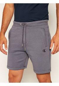 Szare spodenki sportowe Calvin Klein Jeans