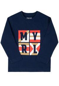 Niebieski t-shirt Mayoral