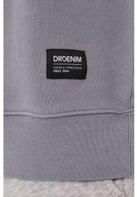 Szara bluza nierozpinana Dr. Denim gładkie