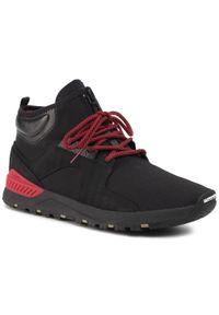 Czarne buty sportowe Etnies Thinsulate, z cholewką