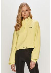 Bluza Vans casualowa, z długim rękawem, krótka, gładkie #5