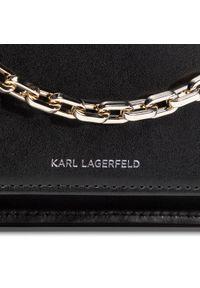 Czarna torebka klasyczna Karl Lagerfeld klasyczna