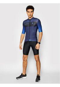 Quest Koszulka rowerowa Essential Granatowy Slim Fit. Kolor: niebieski
