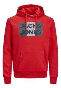 Jack & Jones - Jack&Jones Bluza Ecorp 12152840 Czerwony Regular Fit. Kolor: czerwony #2