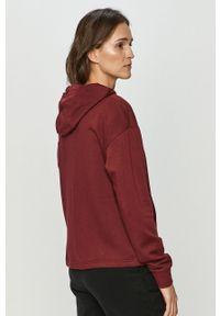Brązowa bluza Nike Sportswear z nadrukiem, z długim rękawem, na co dzień, długa