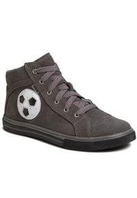 Bartek - Sneakersy BARTEK - 77063-76G Szary. Kolor: szary. Materiał: skóra, zamsz. Szerokość cholewki: normalna. Sezon: zima
