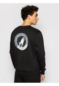 Alpha Industries Bluza Space Shuttle 178307 Czarny Regular Fit. Kolor: czarny
