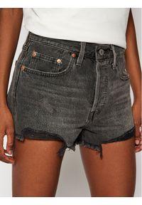 Czarne szorty jeansowe Levi's®