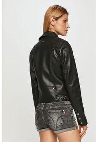 Czarna kurtka Pepe Jeans bez kaptura, na co dzień
