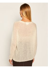 Beżowy sweter klasyczny Max Mara Leisure