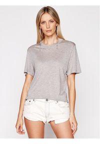 IRO T-Shirt Rashel A0284 Szary Regular Fit. Kolor: szary