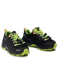 Czarne buty trekkingowe Salewa z cholewką, na spacer