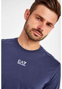 EA7 Emporio Armani - T-SHIRT EA7 EMPORIO ARMANI. Materiał: bawełna. Wzór: nadruk