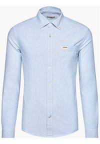 Niebieska koszula casual Napapijri