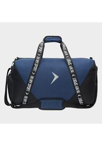 Niebieska torba podróżna outhorn sportowa #4