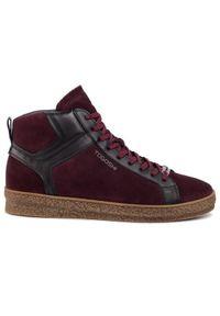 Czerwone sneakersy Togoshi