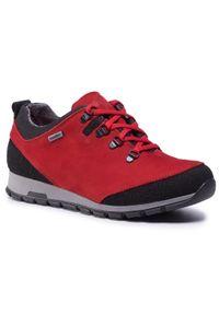 Czerwone buty trekkingowe Nik z cholewką