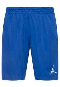 Niebieskie spodenki sportowe Nike