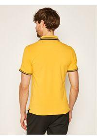 Żółta koszulka polo Guess polo #5
