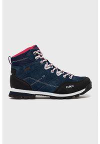 CMP - Buty Alcor. Nosek buta: okrągły. Zapięcie: sznurówki. Kolor: niebieski