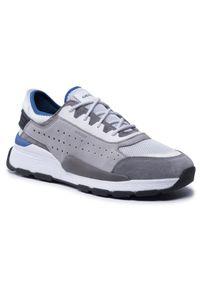Geox Sneakersy U Regale A U029AA 0856K C1303 Szary. Kolor: szary