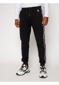 Czarne spodnie dresowe Karl Lagerfeld