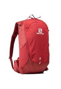 Czerwony plecak salomon