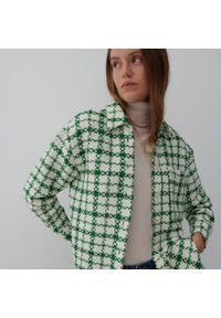 Reserved - Koszula oversize - Zielony. Kolor: zielony